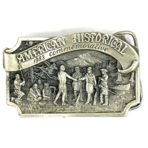 Siskiyou - Belt Buckle - American Historical 1983